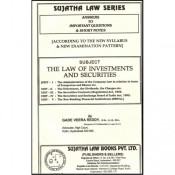 Sujatha's Law of Investments and Securities For B.S.L & L.L.B by Gade Veera Reddy