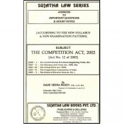 Sujatha's Competition Act, 2002 For B.S.L & L.L.B by Gade Veera Reddy