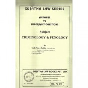Sujatha's Criminology and Penology, Victimology For B.S.L& L.L.B by Gade Veera Reddy
