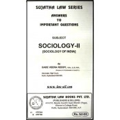 Sujatha's Sociology II For BSL & LL.B by Gade Veera Reddy