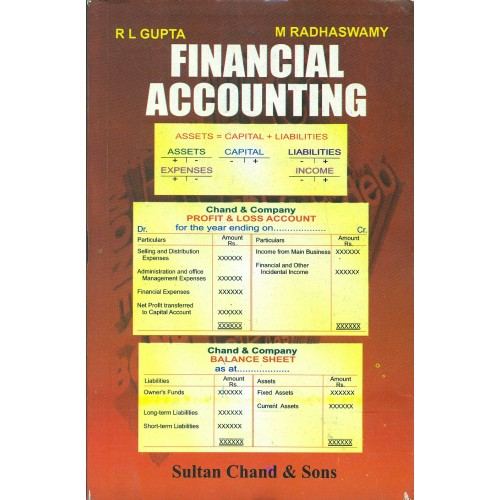Sultan Chand & Son's Financial Accounting by R. L. Gupta & M. Radhaswamy