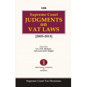 Supreme Court Judgments On VAT Laws (Set of 2 Volumes) [2005-2013] [HB] by CA. P.H. Motlani