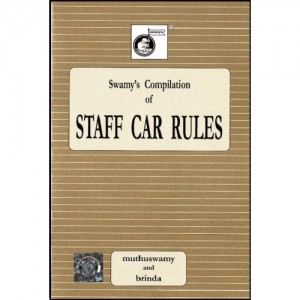 Swamy's Compilation of Staff Car Rules (C-5)