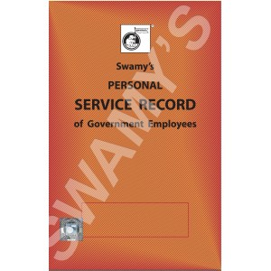 Swamy Publisher's Personal Service Record (S-21)