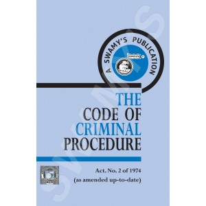 Swamy Publisher's The Code of Criminal Procedure (A-4)