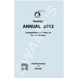 Swamy's Annual 2012 Orders on Service Matters (C-112)