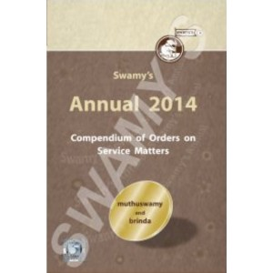 Swamy's Annual 2014 - Compendium of  Orders on Service Matters (C-114)