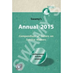 Swamy's Annual 2015 - Compendium of Orders on Service Matters (C-115)