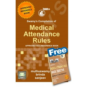 Swamy's Compilation of Medical Attendance Rules by Muthuswamy & Brinda