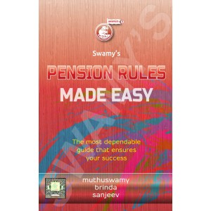 Swamy Publisher's Pension Rules Made Easy (G-2)