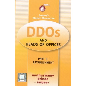 Swamy's Master Manual for DDOs and Head Offices Part - II : Establishment (S-8)