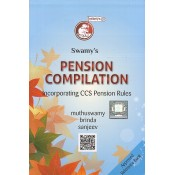 Swamy's Pension Compilation incorporating CCS (Pension) Rules by Muthuswamy & Brinda
