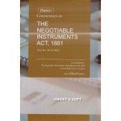 Dutta's Commentary on The Negotiable Instruments Act, 1881 with Allied Laws [HB] by Sweet & Soft Publications