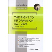 Majumdar's Commentary on The Right to Information Act, 2005 [RTI-HB] by Sweet & Soft