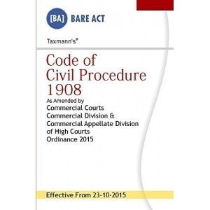 Taxmann's Code of Civil Procedure (CPC) 1908 – Bare Act