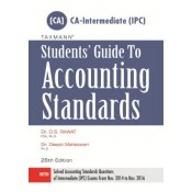 Taxmann's Students Guide to Auditing Standards for CA- Intermediate (IPC) / CA IPCC for May 2017 Exam |Dr. D. S. Rawat & Dr. Deepti Maheswari