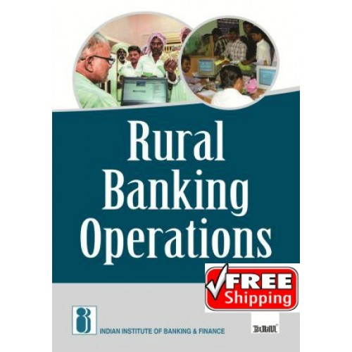 Taxmann's Rural Banking Operations for CAIIB by IIBF