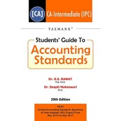 Taxmann's Student's Guide to Accounting Standards for CA Inter (IPCC) November 2017 Exam by Dr. D. S. Rawat & Dr. Deepti Maheswari
