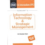 Taxmann's Information Technology & Strategic Management [ITSM] for CA Inter (IPCC) Nov. 2017 Exam by CA. Chandan Patni