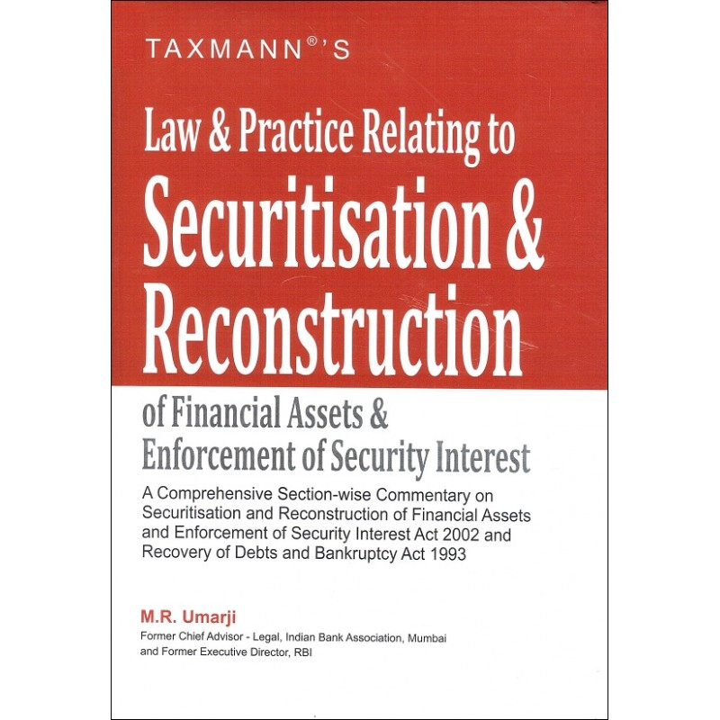 Taxmann's Law & Practice Relating to Securitisation