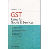 Taxmann's GST Rates for Goods & Services