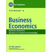 Taxmann's Business Economics for CA-CPT [Foundation] May 2018 Exam by Dr. P. M. Salwan