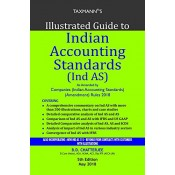 Taxmann's Illustrated Guide to Indian Accounting Standards [Ind AS] [HB] by B. D. Chatterjee