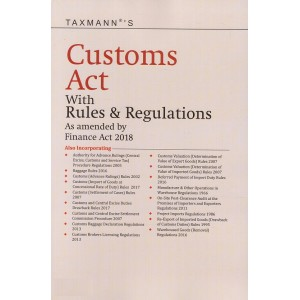 Taxmann's Customs Act with Rules & Regulations