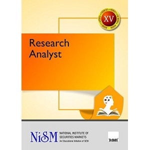 Taxmann's Research Analyst (XV) by NISM