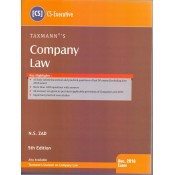 Taxmann's Company Law for CS Executive December 2018 Exam by N. S. Zad