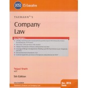 Taxmann's Company Law for CS Executive December 2018 Exam by Tejpal Sheth