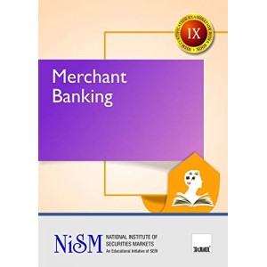 Taxmann Publication's Merchant Banking (IX) by NISM