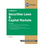 Taxmann's Securities Laws & Capital Markets for CS Executive June 2019 Exam (New Syllabus) by N. S. Zad
