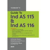 Taxmann's Guide To Ind AS 115 & Ind AS 116 for CA, CS, CMA, MBA & Other Professional Examination by CA. Parveen Sharma & Kapileshwar Bhalla