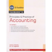 Taxmann's Principles and Practice of Accounting for CA Foundation May 2019 Exam [New Syllabus] by CA. D. G. Sharma, Dr. S. K. Agrawal