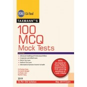 Taxmann's 100 MCQ Mock Tests for CA Final May 2019 Exam [Old Syllabus] by CA. Pankaj Garg (Covering Advanced Auditing & Professional Ethics, Corporate & Allied Laws, DT & IDT Laws & Infomation System Control Audit)