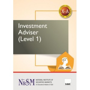 Taxmann's Investment Adviser (Level 1) : X- A by NISM
