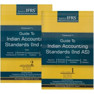Taxmann's Guide to Indian Accounting Standards [Ind AS in 2 Vols 2019 Edition]