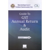 Taxmann's Guide to GST Annual Return & Audit - WIRC of ICAI