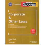 Taxmann's Scanner on Corporate & Other Laws for CA Inter November 2019 Exam [New Syllabus] by Tejpal Sheth