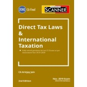Taxmann's Cracker on Direct Tax Laws & International Taxation for CA Final November 2019 Exam [Old & New Syllabus] by CA. Arinjay Jain