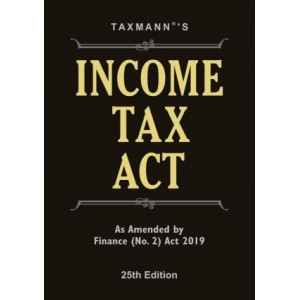 Taxmann's Income Tax Act [Pocket] As Amended by Finance (No. 2) Act 2019