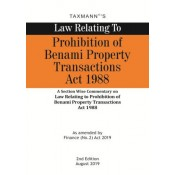 Taxmann Publication's Law Relating to Prohibition of Benami Property Transactions Act, 1988