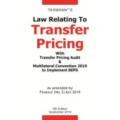 Taxmann's Law Relating to Transfer Pricing with Transfer Pricing Audit & Multilateral Convention 2019 to Implement BEPS