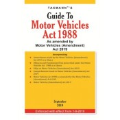 Taxmann's Guide to Motor Vehicles Act 1988 As amended by Motor Vehicles (Amendment) Act 2019