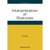 Taxmann's Interpretation of Statutes [IOS] by V. S. Datey