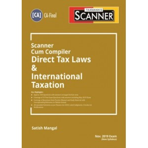 Taxmann's Cracker on Direct Tax Laws & International Taxation for CA Final November 2019 Exam [New Syllabus] by Satish Mangal