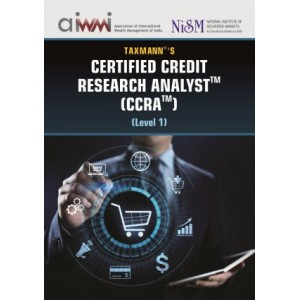 Taxmann's Certified Credit Research Analyst (CCRA) Level 1 by Aditya Gadge, Biharilal Deora, Revati Kasture