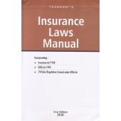 Taxmann's Insurance Laws Manual 2020