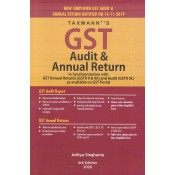 Taxmann's GST Audit & Annual Return by Aditya Singhania